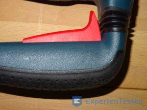 Griff vom Bohrhammer von Bosch im Detail