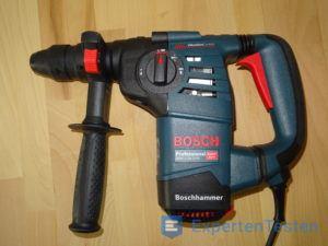 Bohrhammer von Bosch ist betriebsbereit