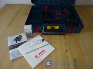 Zubehör und Aufbewahrungskoffer mit Bohrhammer von Bosch