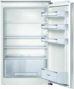 Der Bosch KIR18V51 Serie 2 Einbaukühlschrank hat eine Eierablage.