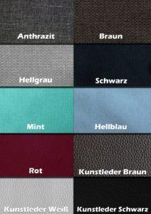 Boxspringbett ROM II Farben