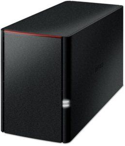 Buffalo LinkStation LS220 2-Bay-Desktop-NAS-Gehäuse