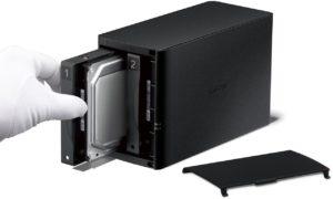 Buffalo LinkStation LS220 2-Bay-Desktop-NASGehäuse