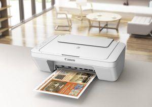Der Canon Pixma MG2950 Farbtintenstrahl-Multifunktionsgerät im Vergleich der Tintenstrahldrucker.