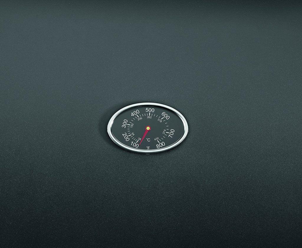 Gasgrill von Clatronic mit Temperaturanzeige in schwarz
