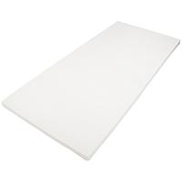 DAILYDREAM® Viscoelastische, orthopädische Matratzenauflagen mit Memory Foam Effekt, RG 50, Größe 90 x 200 x 5cm