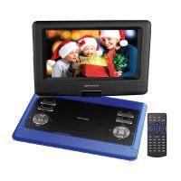 DBPower 10.5 tragbarer DVD-Player, 4 Stunden Akku und schwenkbaren Bildschirm