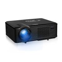 Excelvan CL720D - LED Projektor Beamer mit 3000 Lumen(1080P, eingebaut Lautsprecher, DTV, Heimkino für PC, Smartphone, PS4, XBOX, Kamera, Familie, kleine Konferenz, Ausbildung, KTV, USB AV TV HDMI, 260 Zoll) (Schwarz)