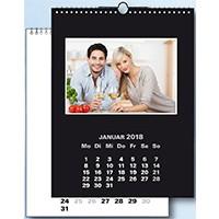 Fotokalender 22x30 Bastelkalender DUO