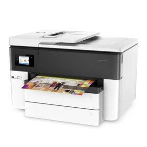 Der HP OfficeJet Pro 7740 A3-Multifunktionsdrucker hat eine Auflösung von 4800 x 1200 dpi.