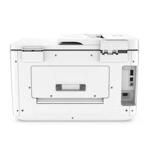 Der HP OfficeJet Pro 7740 A3-Multifunktionsdrucker kann auch DIN A3 drucken.