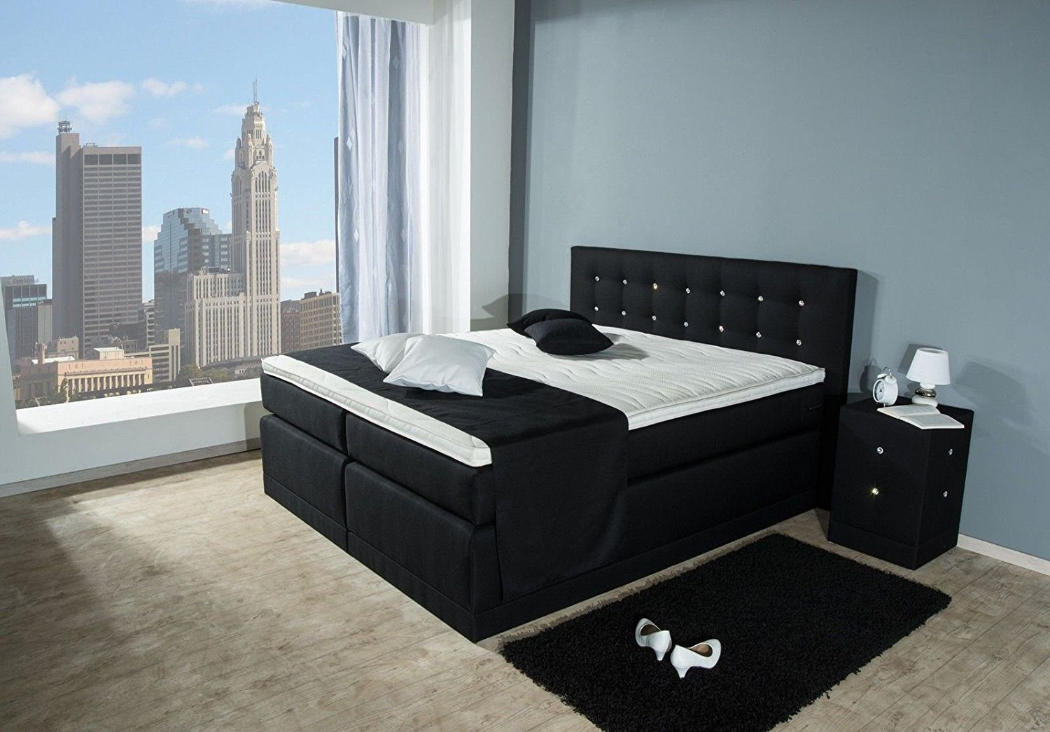 helena boxspringbett aukona international. Black Bedroom Furniture Sets. Home Design Ideas
