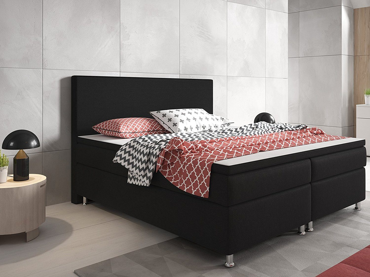 inter berlin boxspringbett. Black Bedroom Furniture Sets. Home Design Ideas