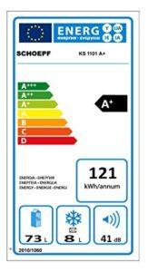 Kühlschrank mit Gefrierfach SCHOEPF KS 1101 A+