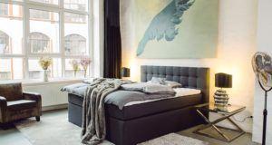 King Boxspringbett 180x200 cm mit Luxus 7-Zonen Taschenfederkernmatratze Visco-Topper in H3 Anthrazit Hotelbett Doppelbett Polsterbett von Betten Jumbo test