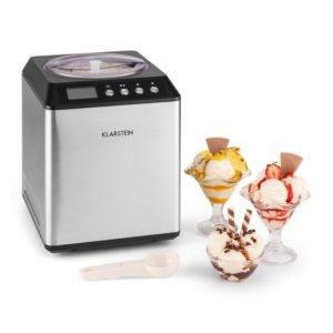 Eismaschine Klarstein Vanilla Sky mit zubereitetem Eis