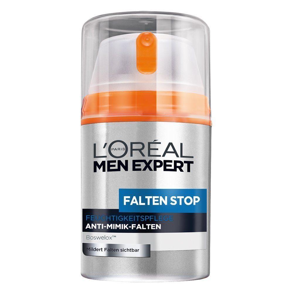 LOr%C3%A9al Men Expert Falten Stop Feuchtigkeitspflege Anti Aging Creme F%C3%BCr M%C3%A4nner 1er Pack