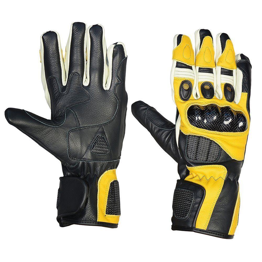 Leder Motorrad Handschuhe