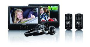 Lenco DVP-939 2x 9 Zoll DVD-Player mit Bildschirm