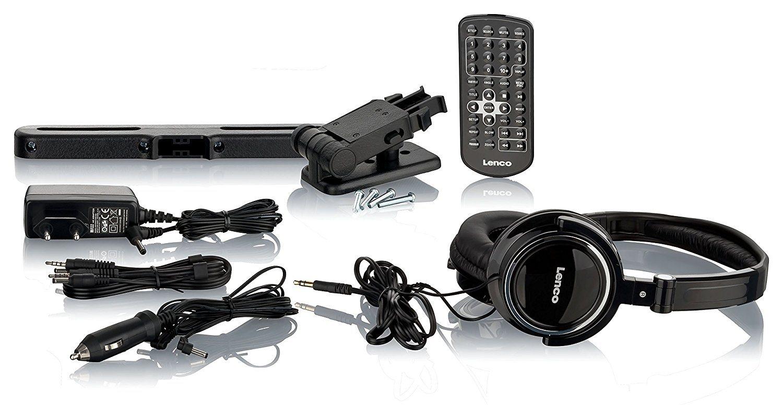 lenco dvp 939 tragbare dvd player im test 2018. Black Bedroom Furniture Sets. Home Design Ideas