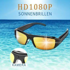 LiDiwee Mini Überwachungskamera in einer Sonnenbrille
