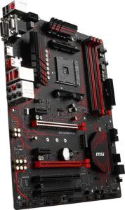 MSI B350 GAMING PLUS, Sockel AM4, DDR4, HDMI,DVI,D-Sub 1x M.2 & 8x USB 3.1 Gen1, 1x USB-C ATX Mainboard Test