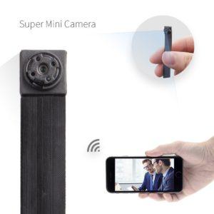 Minikamera HD von Fredi kann mit dem Smartphone gekoppelt werden