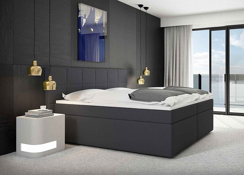 Miosono® Design Boxspringbett GRACE mit Neo Stoff-Bezug
