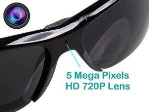 Mode Sonnenbrille HD Cam Mini mit 5 Mega Pixel