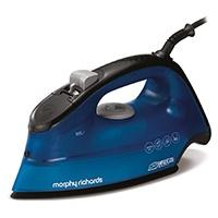 Morphy Richards Breeze Ironing Iron 2400 W Ceramic Sole, blue