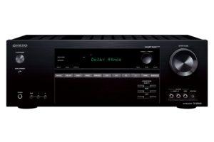 Onkyo TX-SR444 (B) 7.1-Kanal Heimkinoreceiver (Dolby Atmos, DTS-HD, 4K, Ultra HD, HDCP 2.2, Bluetooth, 100 Watt, Raumeinmessung) schwarz