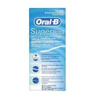 Oral-B-SuperFloss-Zahnseide-50-Fäden,-1er-Pack-(1-x-50-Fäden)