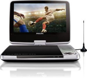 Philips PD902512 Tragbarer DVD-Player (23 cm (9 Zoll) LCD, DVB-T, USB, DVD-RW) silber test