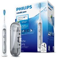 Elektrische Zahnbürste von Philips mit Verpackung und Reiseetui