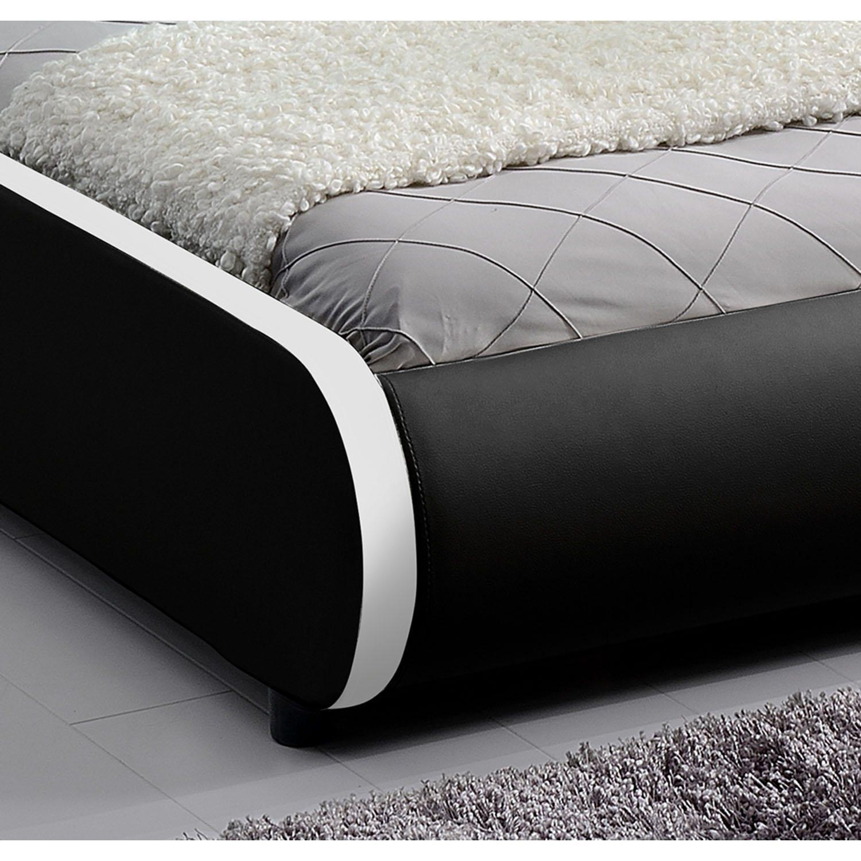 Polsterbett Sevilla - 140 x 200 cm - schwarz im test