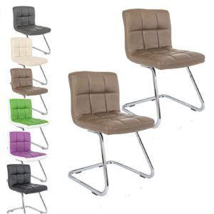 Der Promafit Lounge Stuhl Freischwinger Konferenzstuhl Kunigunde in verschiedenen Farben