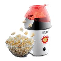 Russell Hobbs 24630-56 Fiesta Popcornmaschine - kalorienarme Zubereitung durch Heißluft ohne Fett und Öl