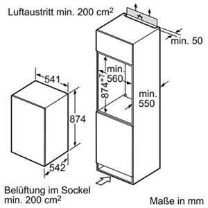Der Siemens KI18LV60 iQ100 hat Energieklasse A++.