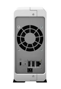 Synology DS115J NAS-Server Hinten