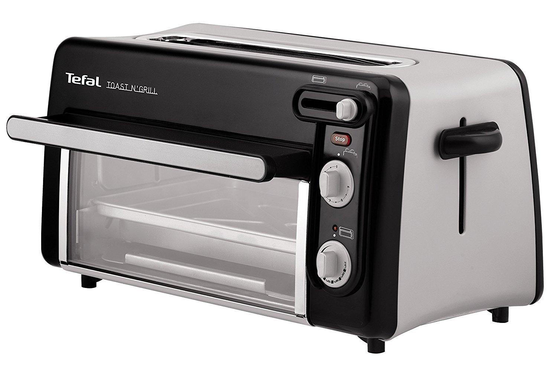 Tefal Toast n' Grill TL6008 2in1 Toaster und Mini-Ofen (1300 Watt)