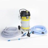 Teichschlammsauger Tornado Biturbo Komplettpaket Teichsauger Poolsauger Schlammsauger für eine professionelle Teichreinigung