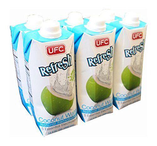 UFC Getr%C3%A4nke Kokoswasser