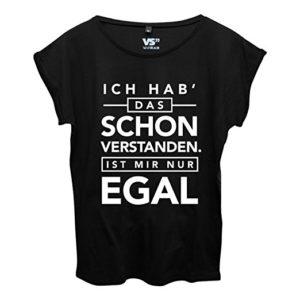 VISUAL STATEMENTS Frauen Shirt mit Spruch