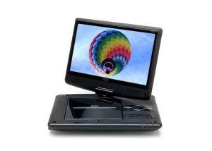 Xoro HSD 1011 Tragbarer DVD-Player mit DVB-T2 Tuner und 25,6 cm neigbar