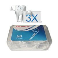 Zahnseide,Dental-Floss,-Hailcer-180-Stück-Weiß-Zahnpflege