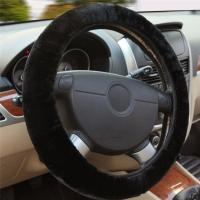 LDream® Universal Auto Lenkradhülle Plüsch schwarz