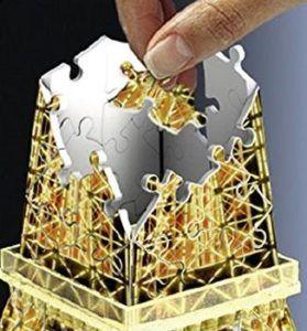 01 5 Ravensburger 3D Puzzle Eiffelturm Bei Nacht 125791