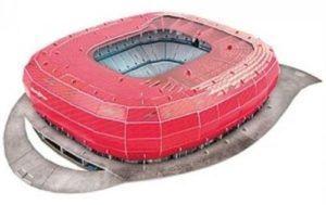 06 1 Nanostad 3D Puzzle Stadion Puzzle Allianz Arena