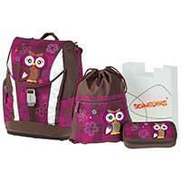 Schneiders 250167 Vienna Soft Schulranzenset Olivia The Owl