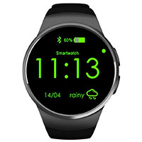 BelievE Wasserdichte Smart Watch mit SIM TF Card Slot